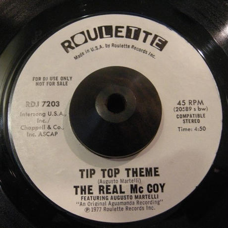 THE REAL Mc COY / TIP TOP THEME