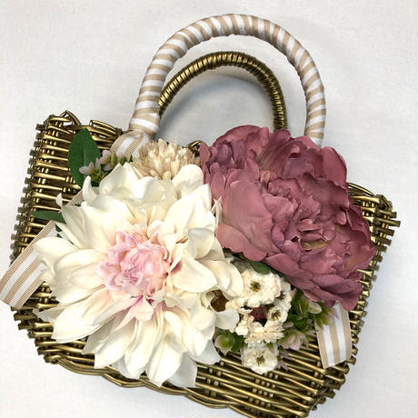 Flower Bag Gold M     【Rabbit】
