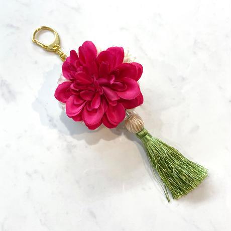 Flower Charm ♪タッセルグリーン 【全1色】