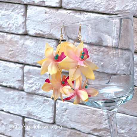 Flower accessory 【mini orchid】