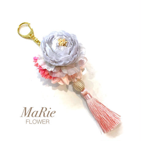 Flower Charm ♪ タッセルピンク【全4色】