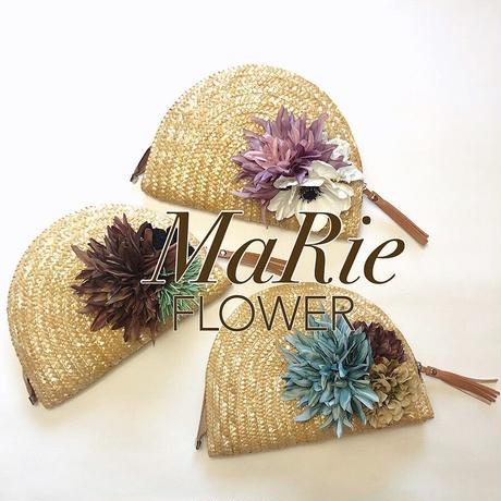 Flower Clutch Bag 【Dahlia】