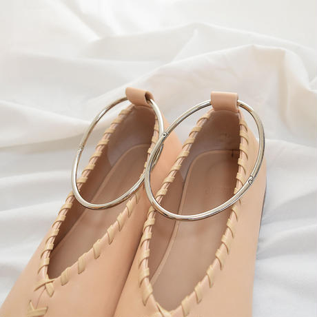 Ring Flat Shoes