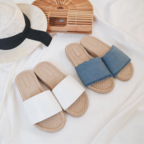 Flat Rubber Sandals