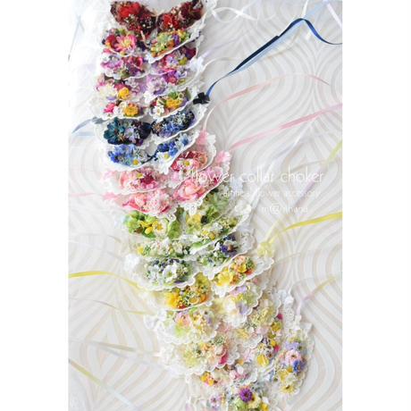 ♡フラワーカラー(お花の襟)チョーカーチョーカー祭り♡