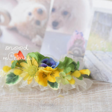 春の幸運(ラッキー)スヌード(お食事スヌード2way)