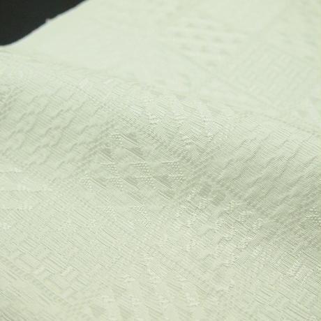 地模様 幾何学柄 絹半衿2