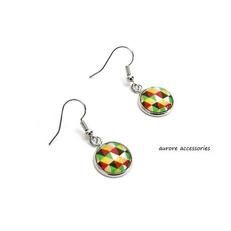 colorful pierced earrings カラフルピアス