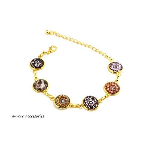 bracelet ブレスレット ブラウン系