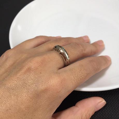 ZEBRA 新木目金 New Mokumegane / 木目Ring
