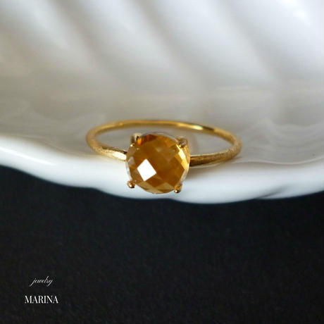 Candy - citrine ring