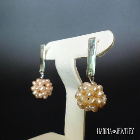 dandelion fluff - たんぽぽのピアス