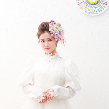 【レンタル】BIG Flower  pink