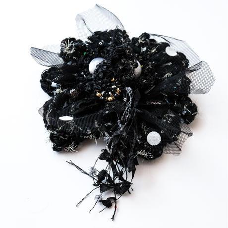 【レンタル】BIG Flower  black