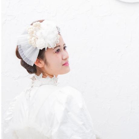 【レンタル】marinco-maringo×猫山めざしコラボヘッドドレス WHITE
