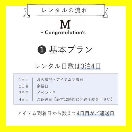 【レンタル】POMPOM冠リボン PASUTEL①