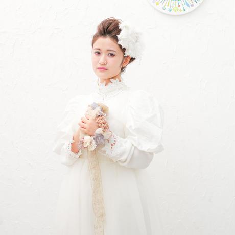【レンタル】BIG Flower  white (販売価格税込¥13200)