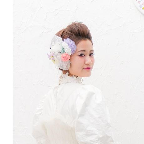 【レンタル】marinco-maringo×猫山めざしコラボヘッドドレス パステル