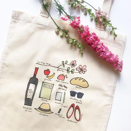 """Tote bag """"In my bag"""""""