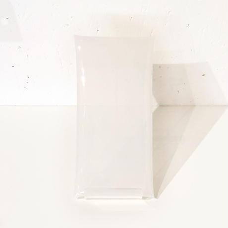お札が折らずに入る透明ぽち袋#OSATSU POCHI -white-