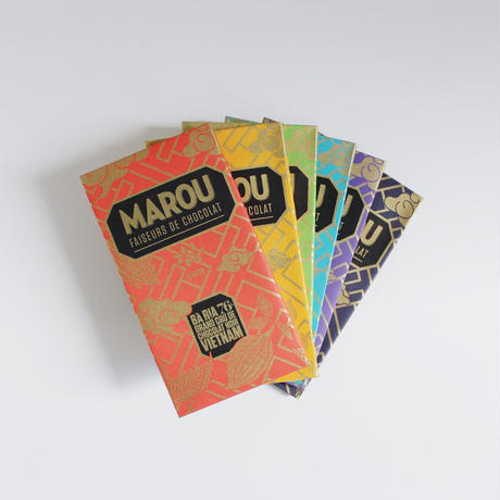 【送料無料】【MAROU】シングルオリジン・タブレット6枚セット