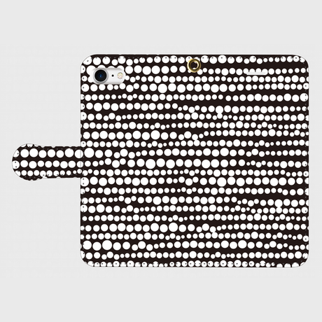 点、点、点。dot white / black smart phone cover / iPhone