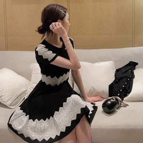 ワンピース❤パーティードレス お嬢様可愛い清楚女子のミニワンピ hdfks962389