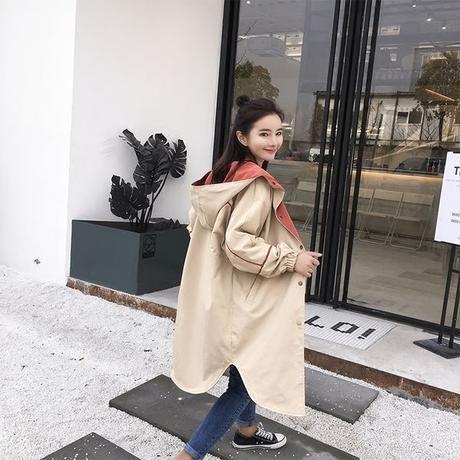 スプリングコート❤可愛い韓国ファッションの春コート! hdfks961032