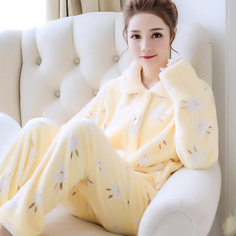 ルールウェア❤パジャマ ウサギちゃんの長袖長ズボンのとっても可愛いすぎるモコモコパジャマ hdfks961790