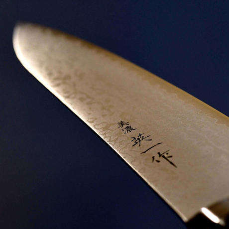 美濃 英一作 ダマスカス鋼VG-10 牛刀210mm