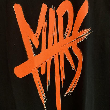 "限定販売!! MARS Sleeveless T-Shirt ""HOT ORANGE"""