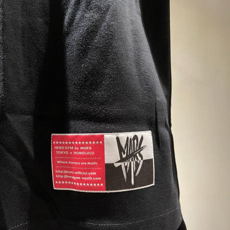 MARS Sleeveless T-Shirt Black