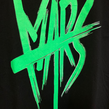 "限定販売!! MARS Sleeveless T-Shirt ""HOT GREEN"""