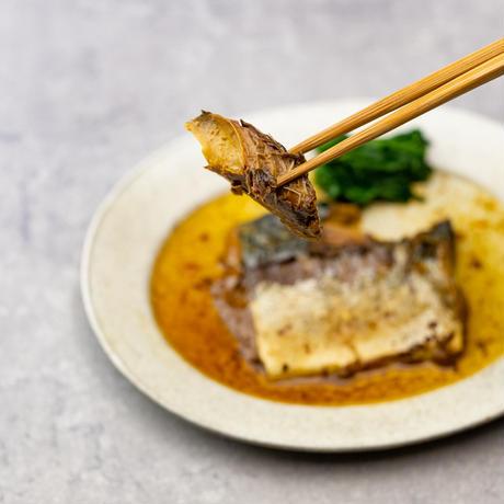 「骨までおいしいお魚シリーズ」醤油煮4種(さば・さんま・いわし・かれい)×2切れ セット  のコピー