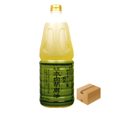 [794]九鬼太白純正胡麻油 1650g✕6入✕1箱 業務用【お取り寄せ品】
