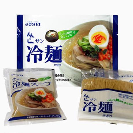[56]  サン冷麺(1人前) 430g✕12入✕1箱【お取り寄せ品】