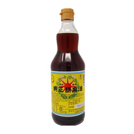 [184]星印  純正胡麻油 濃口 600g ✕12入✕1箱【お取り寄せ品】
