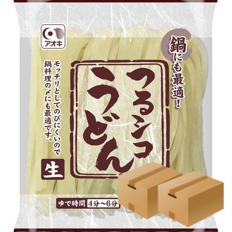 [230]【メーカーより直送】アオキ つるシコうどん 160g✕30食入✕2合✕2 120食入  箱買い