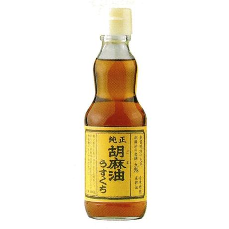[137]九鬼純正胡麻油うすくち  340g✕12✕1箱【お取り寄せ品】