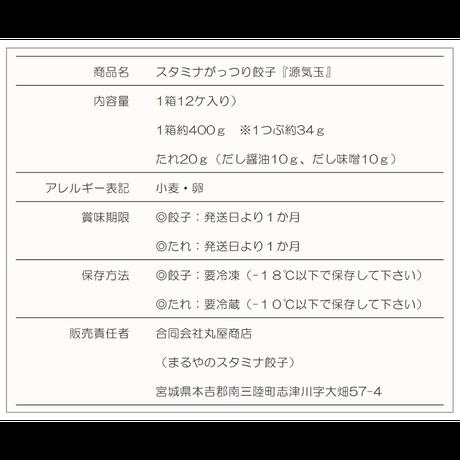 ダブルにんにくスタミナ餃子『源気玉』