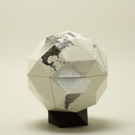 ジオデシック地球儀