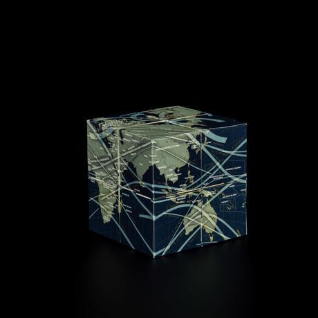 8つの立方体 [アース&ムーン] 回転式地球儀