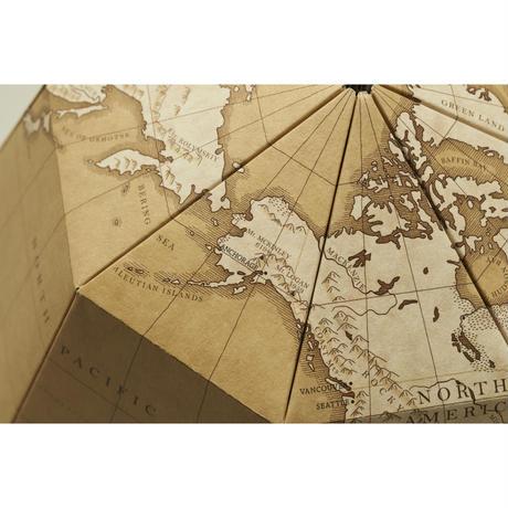 組立式地球儀 地軸23.4度 アンティーク