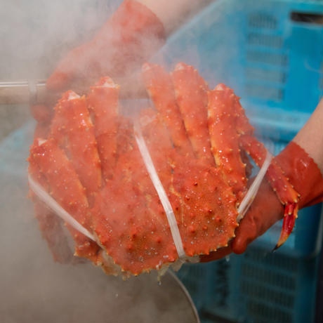 たらば蟹 姿3.8kg前後(ボイル冷凍)【送料込み】