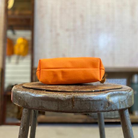帆布ポーチ (オレンジ)