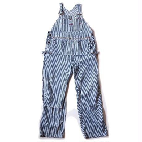 80s BIGMAC /hickory overall/apron付き/doubleknee/USA/USED