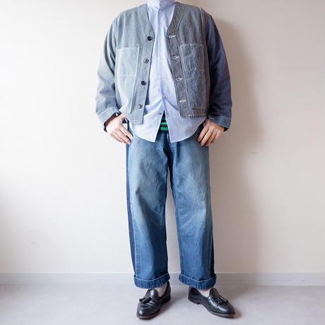 【期間限定SALE】SUNNY SIDE UP(サニーサイドアップ) /Remake engineer jacket /hickory/4-L