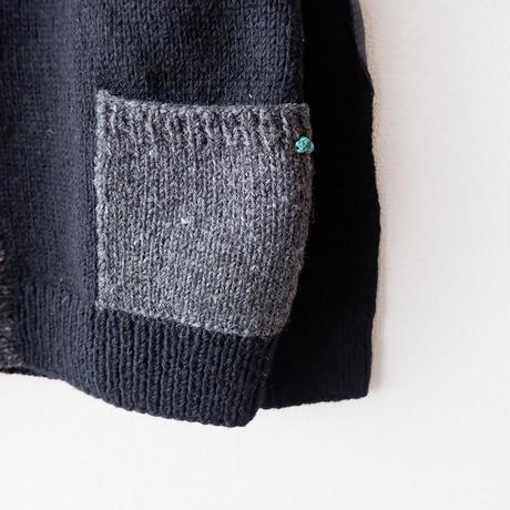 SLOW HANDS(スローハンズ)/カウチンカーディガン/Black
