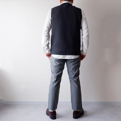 Jackman(ジャックマン) /stretch trousers/gray herringbone