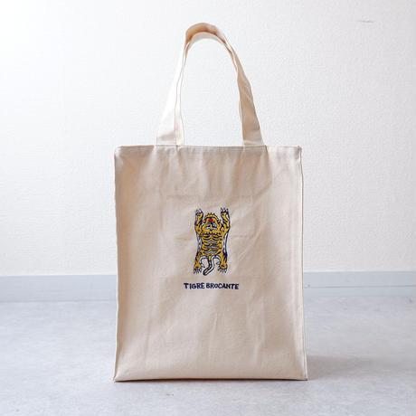 TIGRE BROCANTE(ティグルブロカンテ) /Tigre刺繍 tote bag